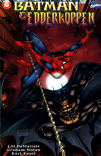 Cover for Batman & Edderkoppen (Egmont, 1998 series)