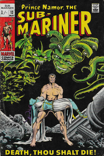 Cover for Sub-Mariner (Marvel, 1968 series) #13 [Regular Edition]