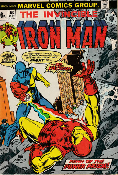 Cover for Iron Man (Marvel, 1968 series) #63 [Regular Edition]