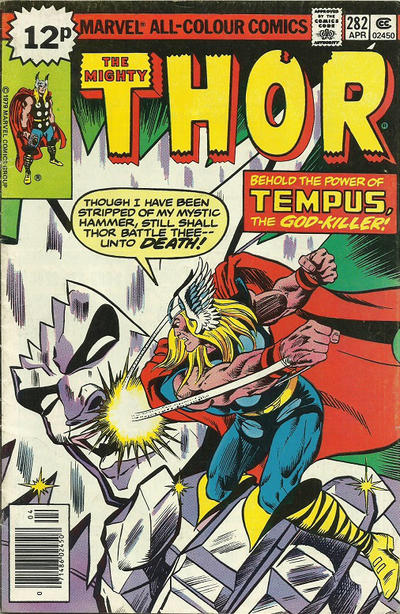 Cover for Thor (Marvel, 1966 series) #282 [Regular Edition]