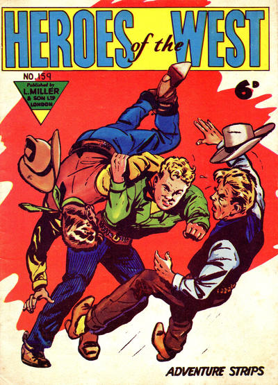 Cover for Heroes of the West (L. Miller & Son, 1959 series) #159