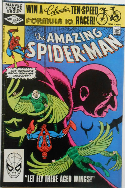 Cover for The Amazing Spider-Man (Marvel, 1963 series) #224 [Newsstand]