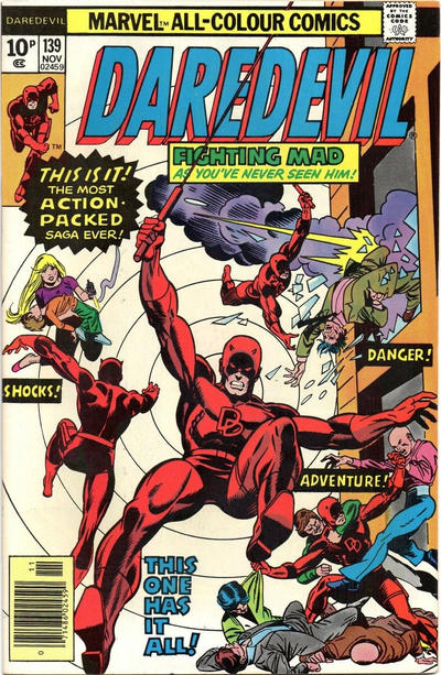 Cover for Daredevil (Marvel, 1964 series) #139 [Regular Edition]