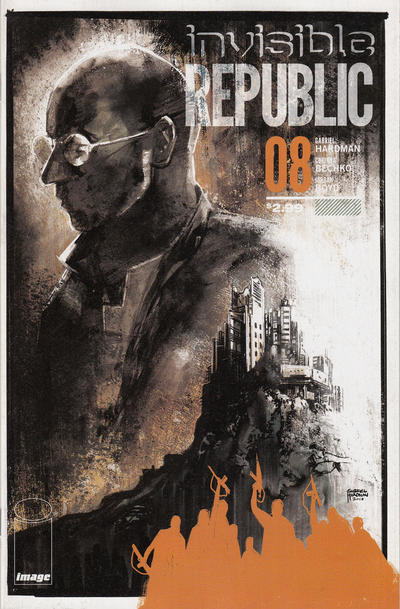 Cover for Invisible Republic (Image, 2015 series) #8