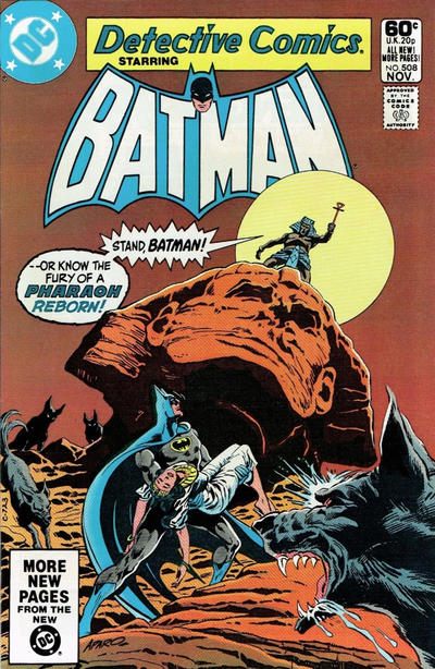 Cover for Detective Comics (DC, 1937 series) #508 [Direct Edition]