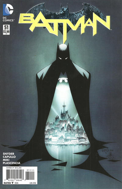 Cover for Batman (DC, 2011 series) #51 [Direct Sales]
