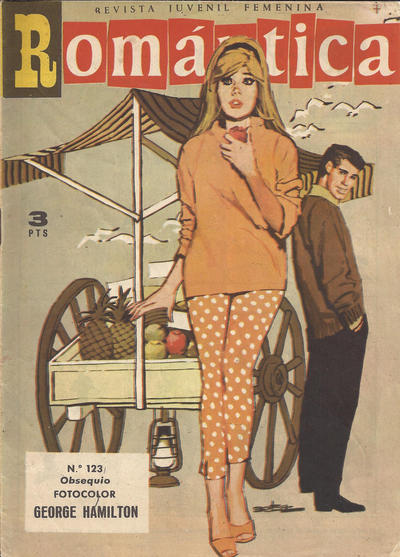 Cover for Romantica (Ibero Mundial de ediciones, 1961 series) #123