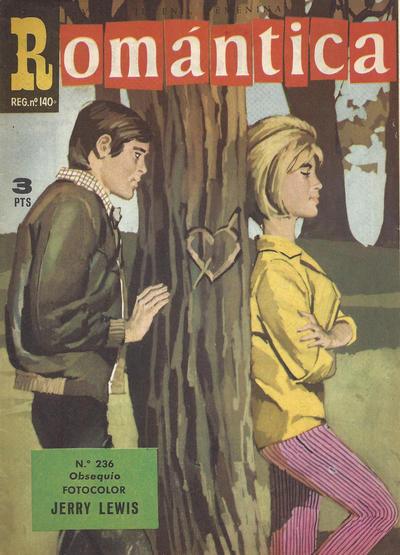 Cover for Romantica (Ibero Mundial de ediciones, 1961 series) #236