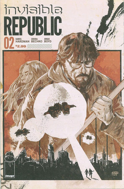 Cover for Invisible Republic (Image, 2015 series) #2