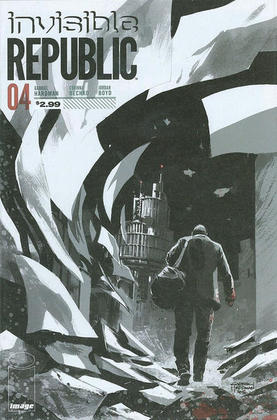 Cover for Invisible Republic (Image, 2015 series) #4