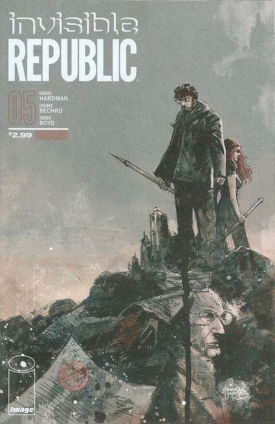 Cover for Invisible Republic (Image, 2015 series) #5