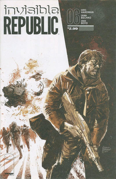 Cover for Invisible Republic (Image, 2015 series) #6