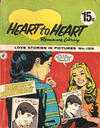 Cover for Heart to Heart Romance Library (K. G. Murray, 1958 series) #128