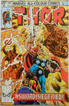 Cover for Thor (Marvel, 1966 series) #297 [British Price Variant]