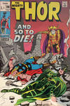 Cover for Thor (Marvel, 1966 series) #190 [British Price Variant]