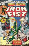 Cover for Marvel Premiere (Marvel, 1972 series) #22 [British Price Variant]