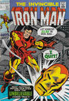 Cover Thumbnail for Iron Man (1968 series) #21 [British Price Variant]
