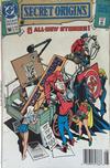 Cover for Secret Origins (DC, 1986 series) #50 [Newsstand]