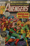 Cover Thumbnail for The Avengers (1963 series) #158 [British Variant]