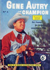 Cover for Gene Autry and Champion (World Distributors, 1956 series) #4