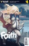 Cover for Faith (Valiant Entertainment, 2016 series) #4 [Cover A - Stephanie Hans]