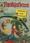 Cover for Los 4 Fantásticos (Editora de Periódicos La Prensa S.C.L., 1962 series) #55