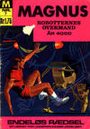 Cover for Magnus, Robotternes overmand år 4000 (I.K. [Illustrerede klassikere], 1968 series) #7