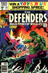 Cover for The Defenders (Marvel, 1972 series) #88 [Newsstand]