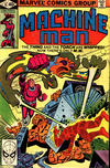Cover for Machine Man (Marvel, 1978 series) #15 [Direct]