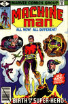 Cover for Machine Man (Marvel, 1978 series) #10 [Direct Edition]