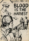 Cover Thumbnail for Blood Is the Harvest (1950 series)  [Black and White Miniature]
