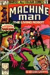 Cover for Machine Man (Marvel, 1978 series) #16 [British]