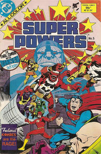 Cover Thumbnail for Super Powers (Federal, 1984 series) #5