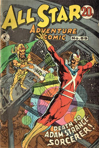Cover Thumbnail for All Star Adventure Comic (K. G. Murray, 1959 series) #59
