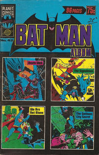 Cover Thumbnail for Batman Album (K. G. Murray, 1976 series) #42
