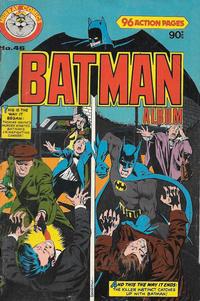 Cover Thumbnail for Batman Album (K. G. Murray, 1976 series) #46