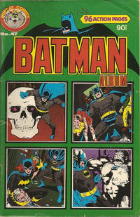 Cover Thumbnail for Batman Album (K. G. Murray, 1976 series) #47