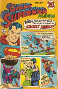 Cover Thumbnail for Giant Superman Album (K. G. Murray, 1963 ? series) #17