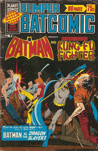 Cover Thumbnail for Bumper Batcomic (K. G. Murray, 1976 series) #11