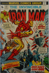 Cover for Iron Man (Marvel, 1968 series) #65 [Regular Edition]