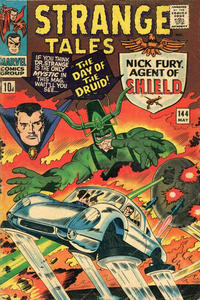Cover for Strange Tales (Marvel, 1951 series) #144 [Regular Edition]