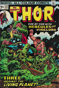 Cover Thumbnail for Thor (Marvel, 1966 series) #227 [British]