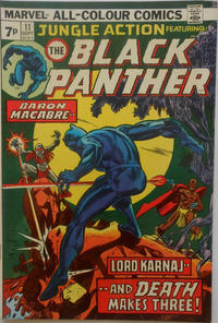 Cover Thumbnail for Jungle Action (Marvel, 1972 series) #11 [British]