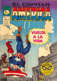 Cover Thumbnail for Capitán América (Editora de Periódicos La Prensa S.C.L., 1968 series) #11