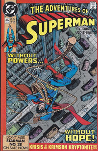 Cover Thumbnail for Adventures of Superman (DC, 1987 series) #472 [Direct]