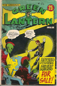 Cover Thumbnail for The Original Green Lantern (K. G. Murray, 1974 series) #2