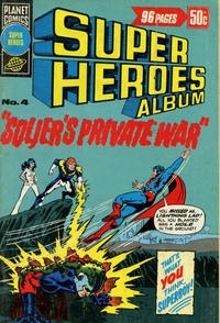 Cover Thumbnail for Super Heroes Album (K. G. Murray, 1976 series) #4