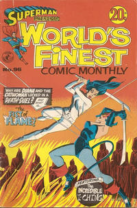 Cover Thumbnail for Superman Presents World's Finest Comic Monthly (K. G. Murray, 1965 series) #96
