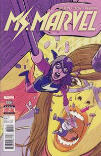 Cover Thumbnail for Ms. Marvel (Marvel, 2016 series) #6