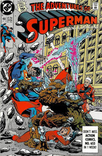 Cover Thumbnail for Adventures of Superman (DC, 1987 series) #466 [Direct]